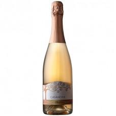 Вино игристое розовое брют Olmè Casanova органическое 0,75 л