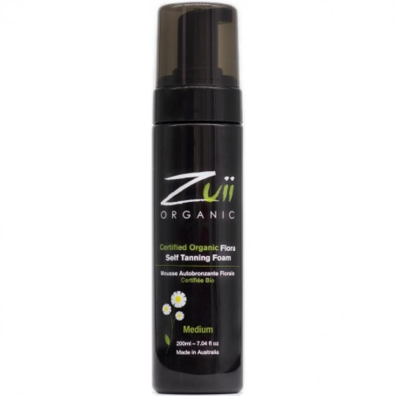 Пена для автозагара Zuii Organic Flora Self Tanning Foam органическая