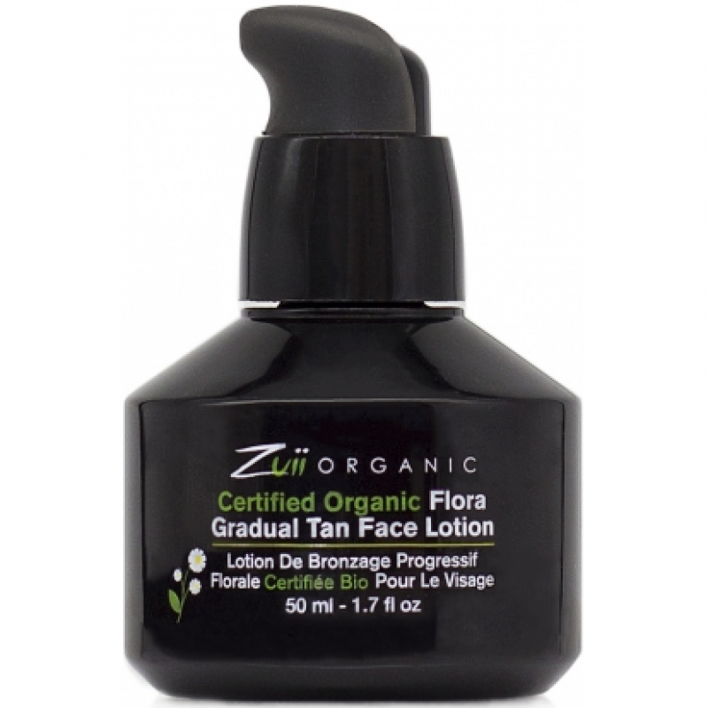 Лосьон для постепенного загара лица Zuii Organic Flora Gradual Tan Face Lotion органический