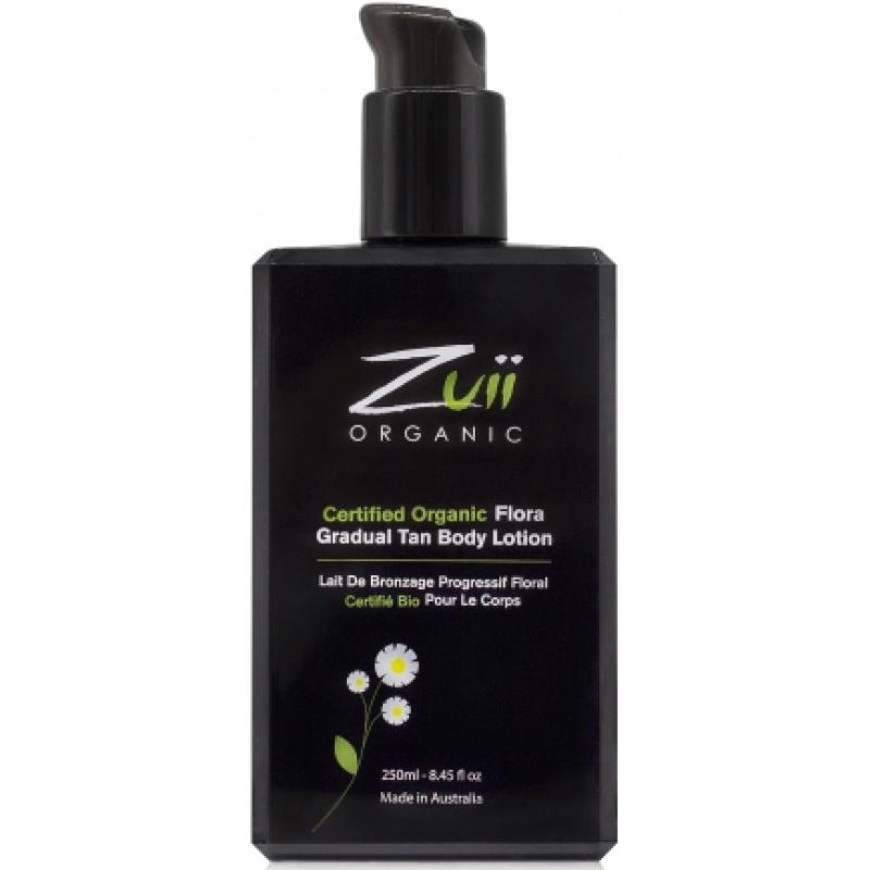 Лосьон для постепенного загара тела Zuii Organic Flora Gradual Tan Body Lotion органический