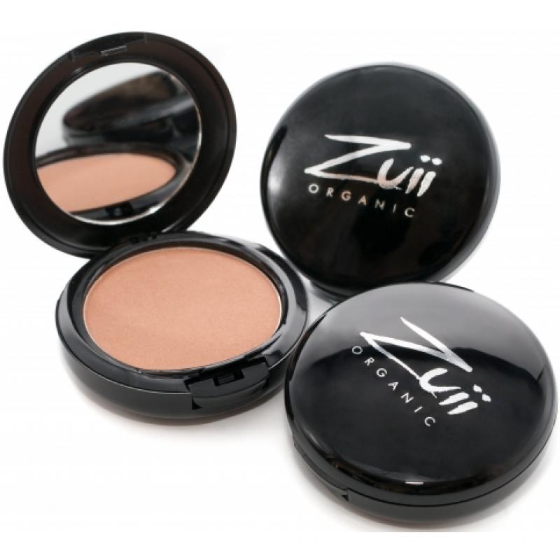Бронзатор с шиммером Zuii Organic Flora Powder Shimmer Bronzer органический