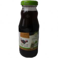Сок виноградный красный Greener Planet органический, 0,2 л