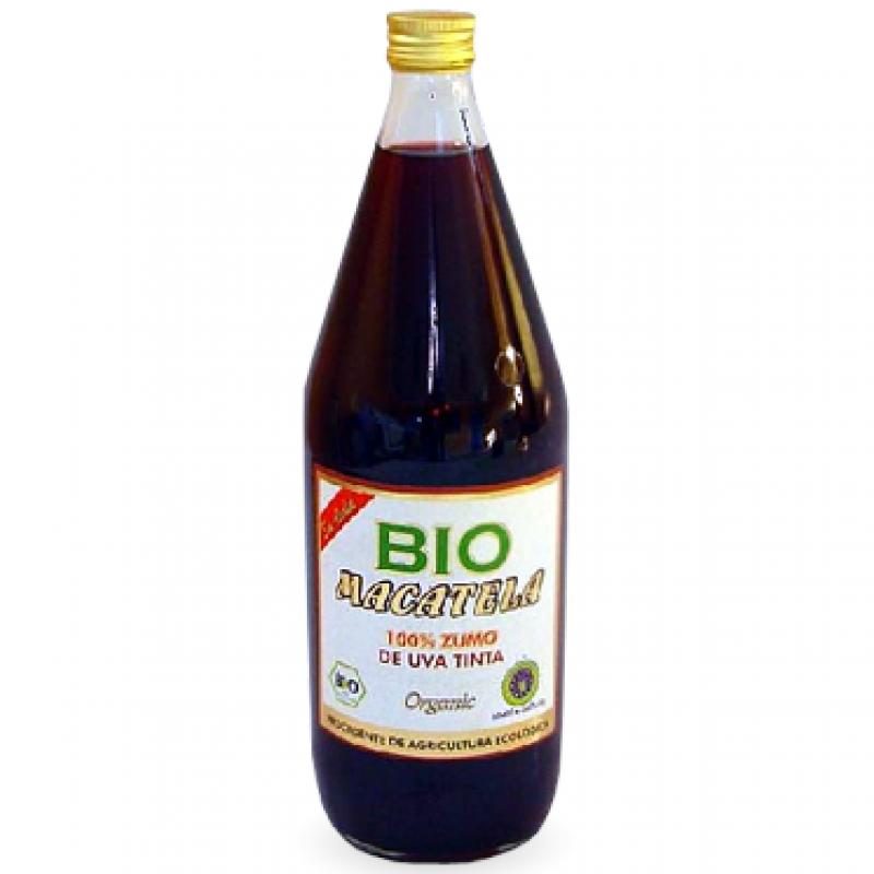 Сок виноградный красный Macatela органический, 1 л