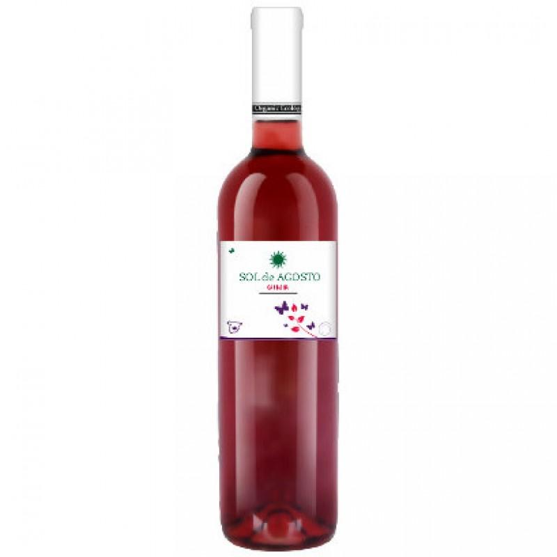 Вино розовое сухое Sol de Agosto Garnacha 2016 органическое 0,75 л