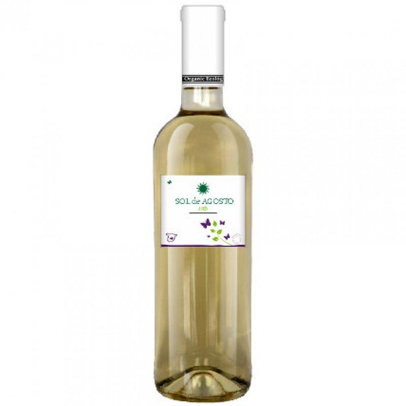 Вино белое сухое Sol de Agosto Airen 2016 органическое 1 л