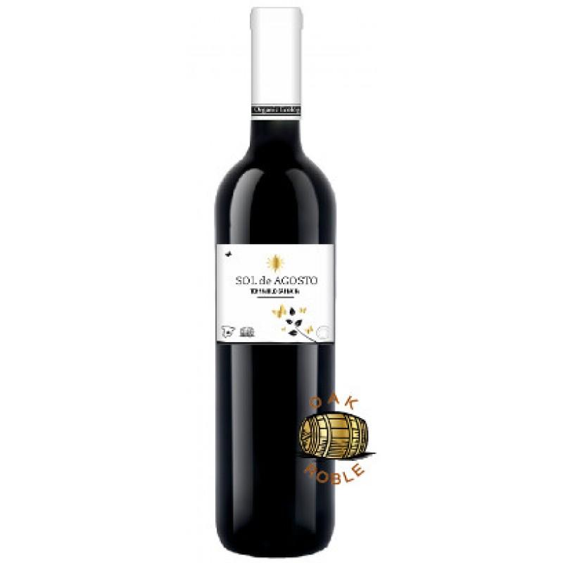 Вино красное сухое выдержанное Sol de Agosto Tempranillo Garnacha органическое 0,75 л
