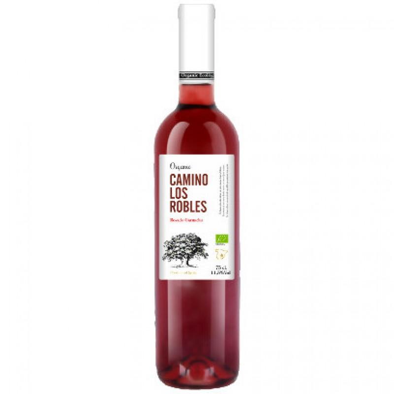 Вино розовое сухое Camino Los Robles Garnacha 2016 органическое 0,75 л