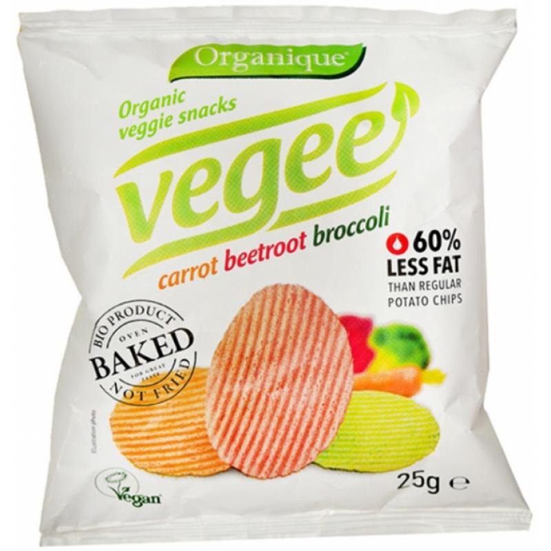 Картофельные снеки Vegee органические, 25 г