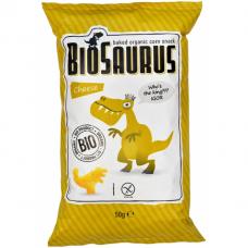 Кукурузные снеки с сыром органические Biosaurus, 50 г