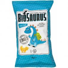 Кукурузные снеки с морской солью органические Biosaurus, 50 г