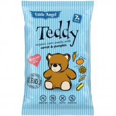 """Кукурузные снеки Teddy """"Морковь и тыква"""" органические, 30 г"""