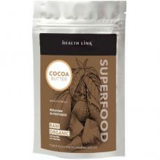 Какао-масло кусочками Health Link органическое, 250 г