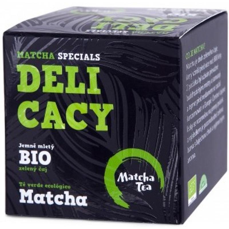 Чай матча (маття) Delicacy Matcha Tea органический, 30 г