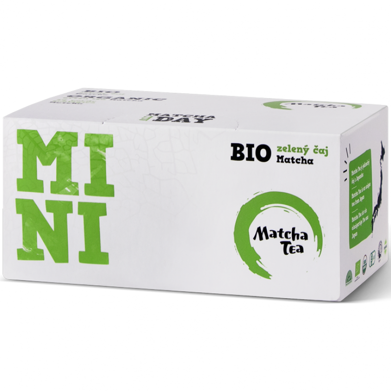Чай матча (маття) в саше органический Mini Matcha Tea, 30 г (15 x 2 г)