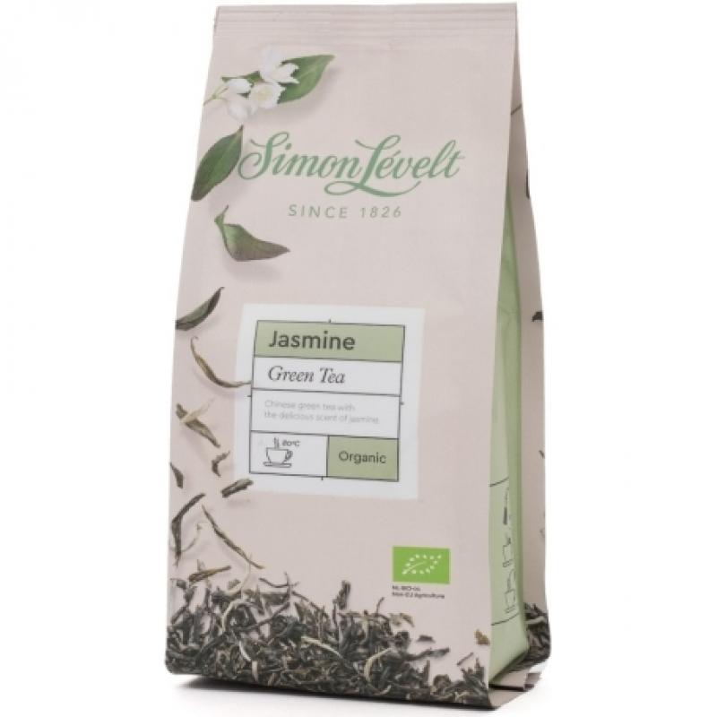 Чай зеленый Jasmine Simon Lévelt листовой органический, 100 г