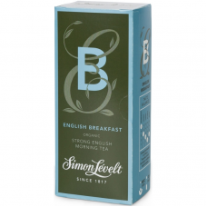 Чай черный English Breakfast Simon Lévelt органический, 20 пакетиков