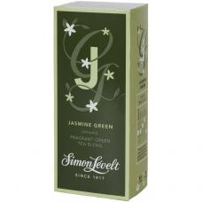 Чай зеленый Jasmine Green Simon Lévelt органический, 20 пакетиков