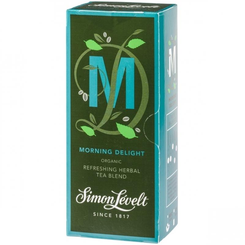 Чай травяной Morning Delight Simon Lévelt органический, 20 пакетиков