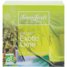 Чай зелёный Exotic Lime Simon Lévelt органический, 10 пакетиков