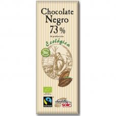 Шоколад чёрный 73% какао Chocolates Solé органический, 25 г