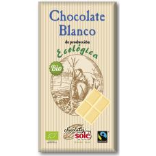 Шоколад белый Chocolates Solé органический, 100 г