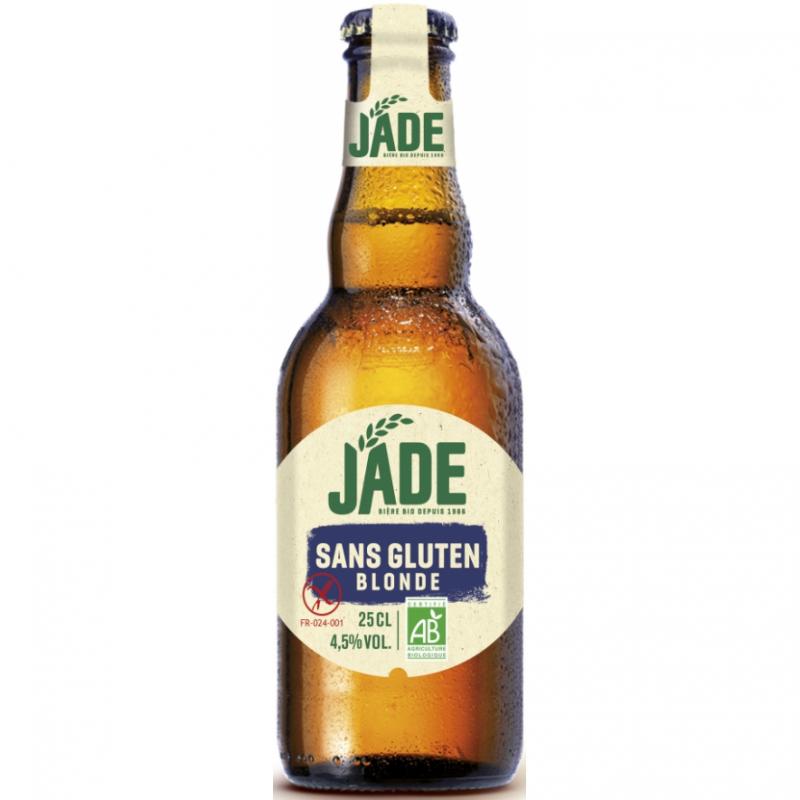 Пиво органическое светлое Jade Blonde без глютена, 250 мл
