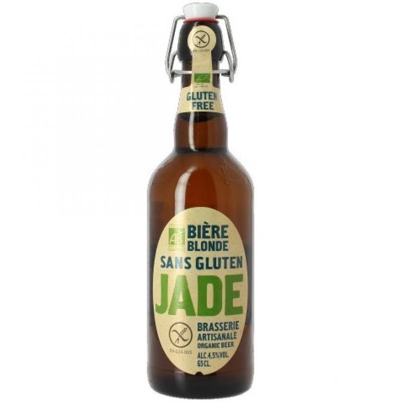Пиво органическое светлое Jade без глютена, 650 мл