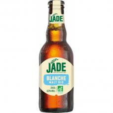 Пиво светлое нефильтрованное органическое Jade Blanche, 250 мл