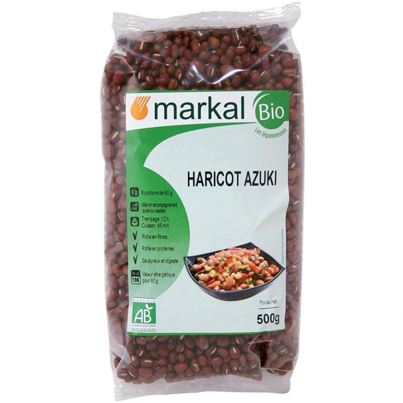 Бобы азуки Markal органические, 500 г