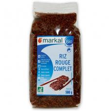 Рис красный неочищенный Markal органический, 500 г
