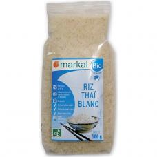 Рис белый длиннозёрный тайский Markal органический, 500 г