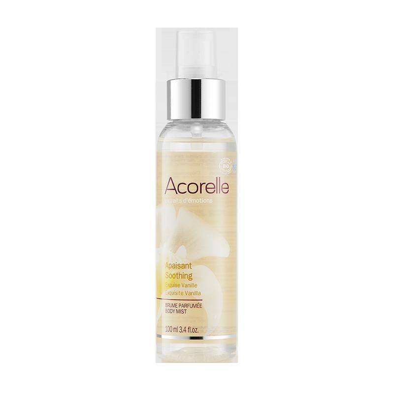 Парфюмированный спрей для тела Acorelle Exquisite Vanilla органический, 100 мл