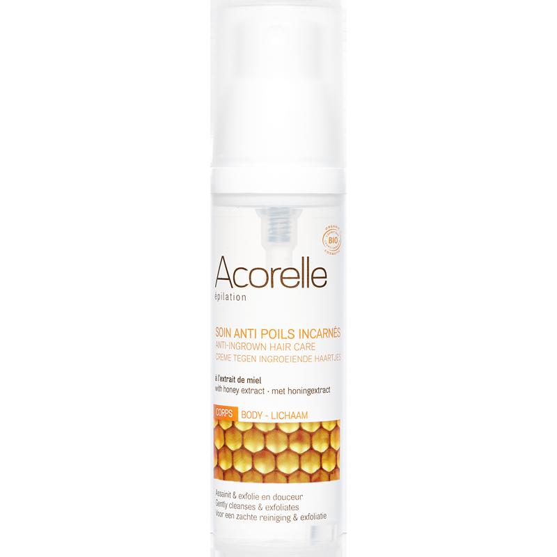 """Средство против вросших волос """"Алоэ и мёд"""" Acorelle органическое, 50 мл"""
