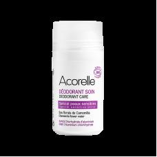 """Освежающий минеральный дезодорант для чувствительной кожи """"Ромашка и миндаль"""" Acorelle органический, 50 мл"""