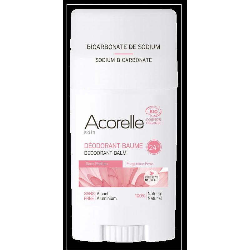 Дезодорант-бальзам без запаха Acorelle органический, 40 г