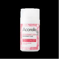 """Освежающий минеральный дезодорант """"Дикая роза"""" Acorelle, органический, 50 мл"""