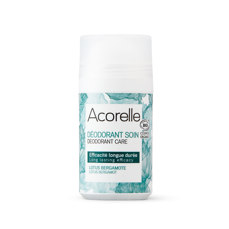"""Освежающий минеральный дезодорант """"Лотос и бергамот"""" Acorelle органический, 50 мл"""