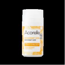 """Освежающий минеральный дезодорант """"Лимон и моринга"""" Acorelle органический, 50 мл"""
