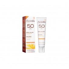 Спрей солнцезащитный SPF 50 органический Acorelle, 100 мл