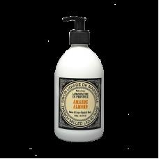 """Жидкое мыло """"Миндаль"""" La Manufacture en Provence органическое, 500 мл"""