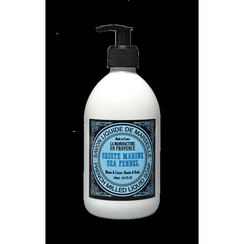 """Жидкое мыло """"Критмум морской"""" La Manufacture en Provence органическое, 500 мл"""