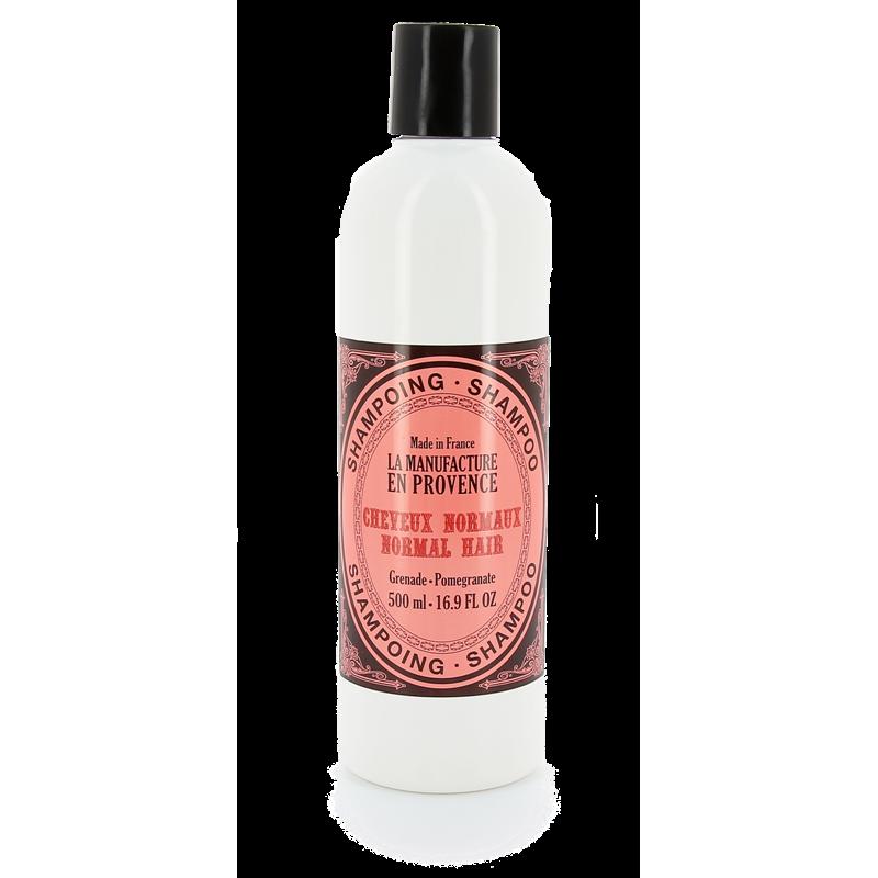 """Шампунь для нормальных волос """"Гранат"""" La Manufacture en Provence органический, 500 мл"""
