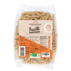 Макаронные изделия Фузилли из кукурузной, гречневой и рисовой муки Paradeigma органические, 250 г