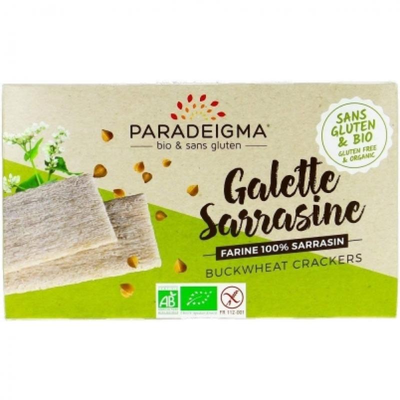 Хлебцы из гречневой муки Paradeigma органические, 160 г
