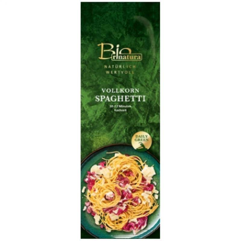 Спагетти из цельнозерновой муки Rinatura органические, 500 г