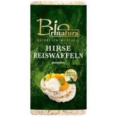 Рисовые хлебцы с просом Rinatura органические, 100 г