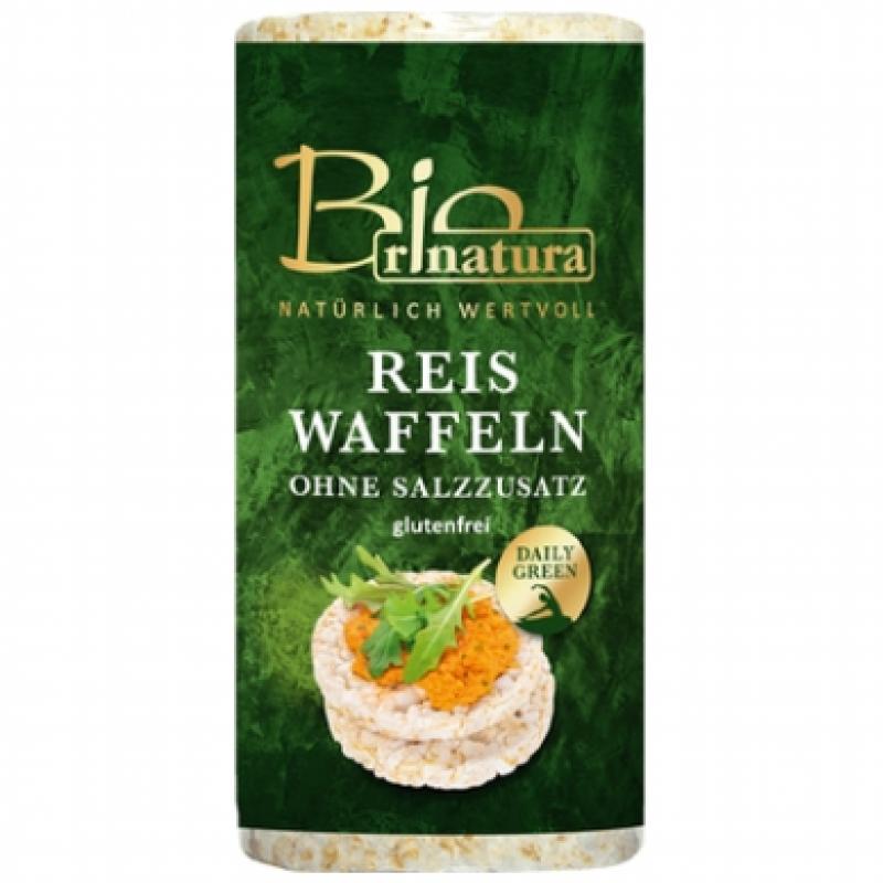 Рисовые хлебцы без соли Rinatura органические, 100 г