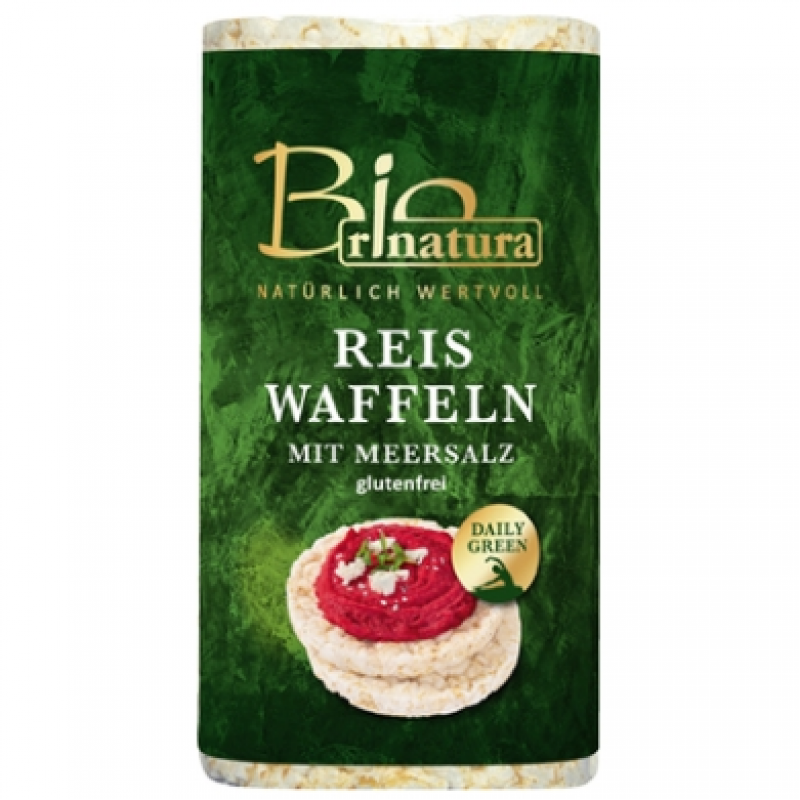 Рисовые хлебцы Rinatura без глютена органические, 100 г