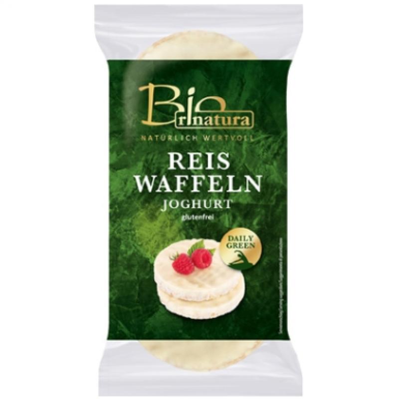 Вафли рисовые в йогуртe Rinatura, 100 г