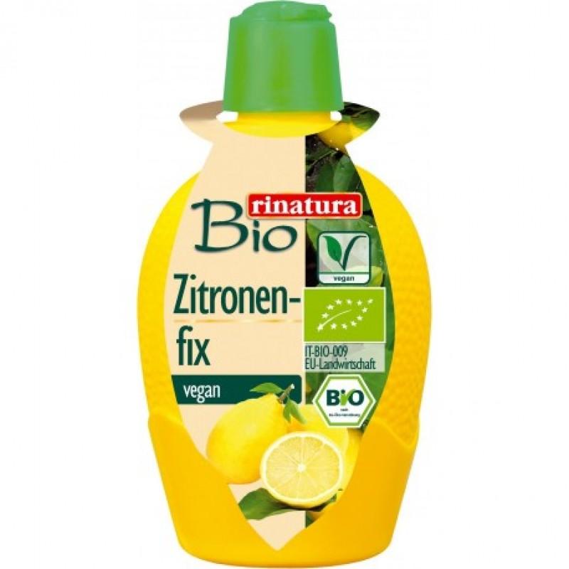Лимонный сок концентрированный Rinatura органический, 100 мл